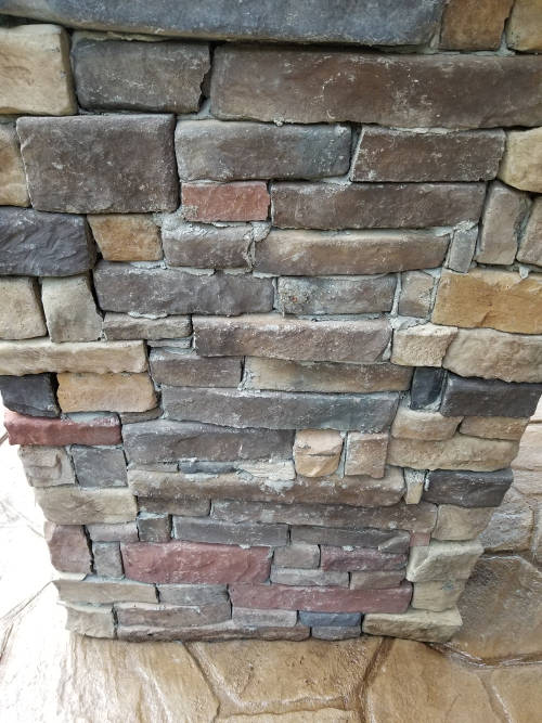 Poorly done stone column